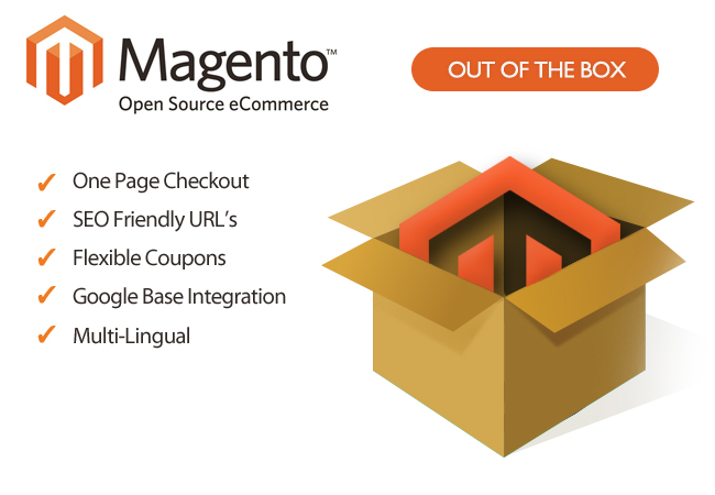 Magento out the box